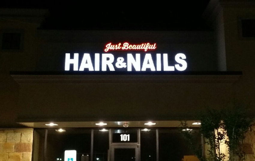 Nails & Spa Austin Illuminated Signs Maintenance